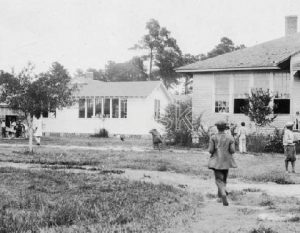 Picture of PCTS campus in 1928